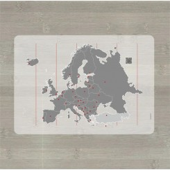LærLet - Europakort med QR kode