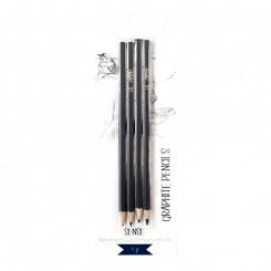 Sense graphite blyanter, 4 stk.