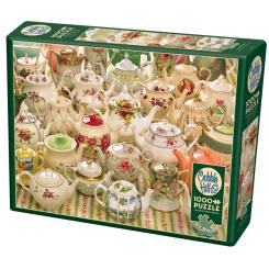 Cobble Hill puslespil 1000 brikker, Teapots too
