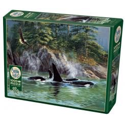 Cobble Hill puslespil 1000 brikker, Orcas