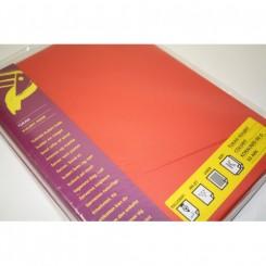 Kopipapir A4 50 ark 80 g. Rød