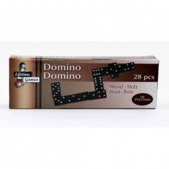 Domino spil, træbrikker