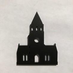 RYBORG Magnet - Tyrstrup Kirke