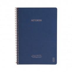 KOZO Notesbog A5, navy