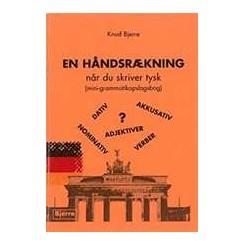 En Håndsrækning når du skriver tysk
