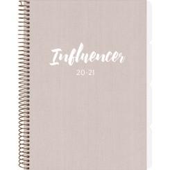 Studiekalender Influencer A5, 2020/2021