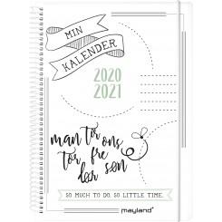 Ugekalender Doodle II A5, 2020/2021