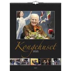 Vægkalender Kongehuset 2021