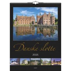 Vægkalender Danske slotte 2021