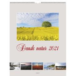 Vægkalender Dansk natur 2021