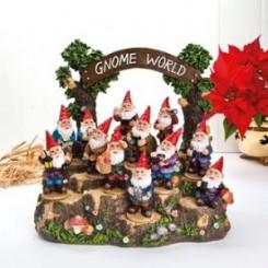 Gnome World podie