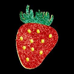 Jordbær Broche