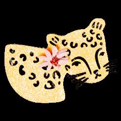 Leopard Broche