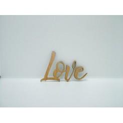 Træ skilt - Love