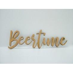 Træ skilt - Beertime