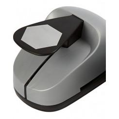 Punch Hexagon stor, grå