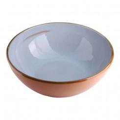 Terracotta skål Ø18, Lyseblå