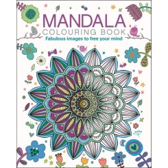 Malebog, Mandala Colouring Book