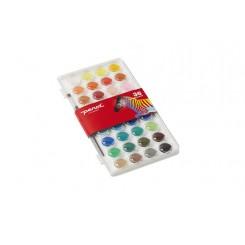 Penol vandfarve, 36 farver