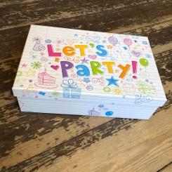Æsker 'Let's Party', 10 størrelser
