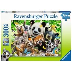 Ravensburger Puzzle, Wildlife Selfie, XXL 300 brikker