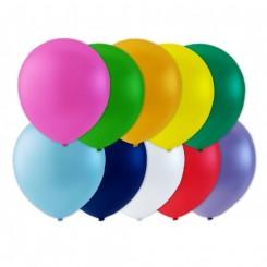 Balloner med blandede farver Ø26 cm