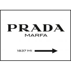 Prada poster board 30x40cm