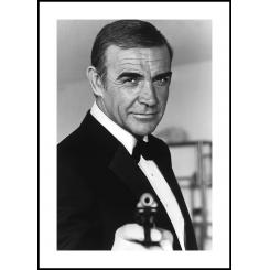 James Bond poster board 30x40cm