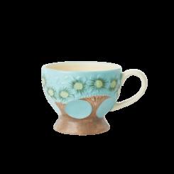 Rice Keramik Krus, blå