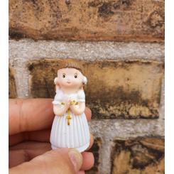 Kransekage figur lille, Konfirmation, pige