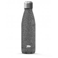 JobOut Drikkedunk 500 ml, GLITTER, sølv