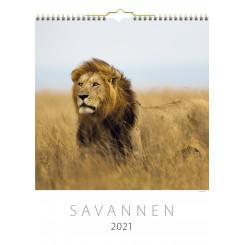 Vægkalender Savannen 2021