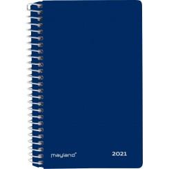 Mini 2-dages kalender spiralryg, 2021
