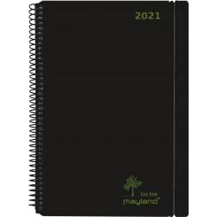 Mayland Eco line A6 2021, sort