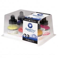 Aquafine, vandmaling 6 farver