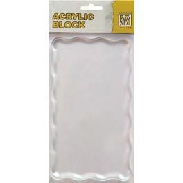 Acrylblok 160x90x8mm