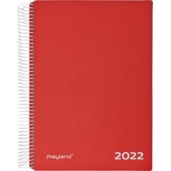 Timekalender Rød, 2022