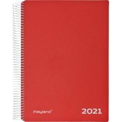 Timekalender Rød, 2021