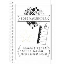 Ugekalender Doodle III A5, 2021