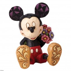 Mini Mickey Mouse med blomst, H7