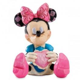 Mini Minnie Mouse med hjerte, H7