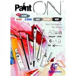 Paint On Mixed media tegnepapir A3