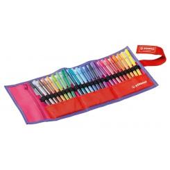 Stabilo Pen 68 tuscher, 25 stk.