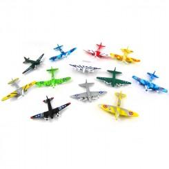 Flyvemaskine, metal, lille