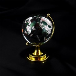 Globus, glas, 6 cm