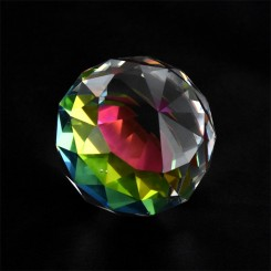 Diamant kugle, farvet