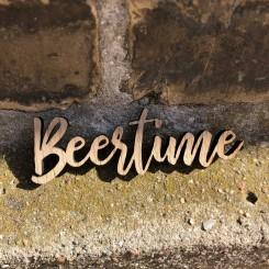 Mini træ skilt - Beertime
