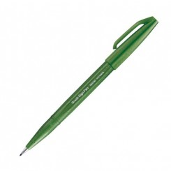 Pentel Touch Pen, Olive green