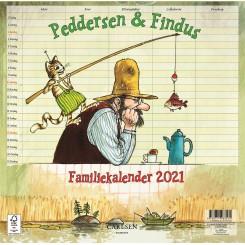 Peddersen & Findus - familiekalender 2021