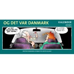 Og det var Danmark kalender 2021 - UDKOMMER 01-10-2020